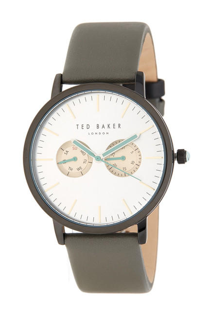 So He's Never Late - TED BAKER Men's Watch