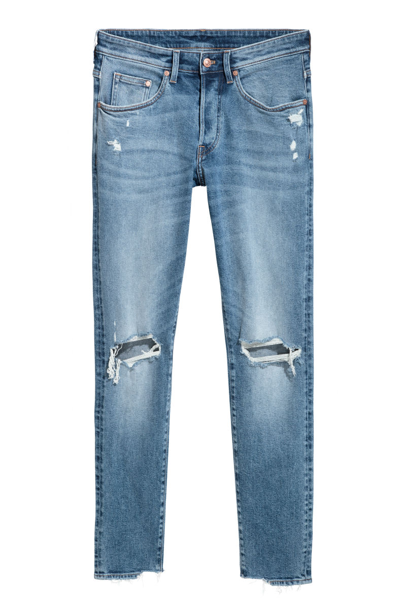 The Ones He'll Live In - Ok, if you're looking for some men's jeans that are affordable, look and feel amazing... Look no further, Adam lives in these, for the price they are awesome quality. -H&M Denim