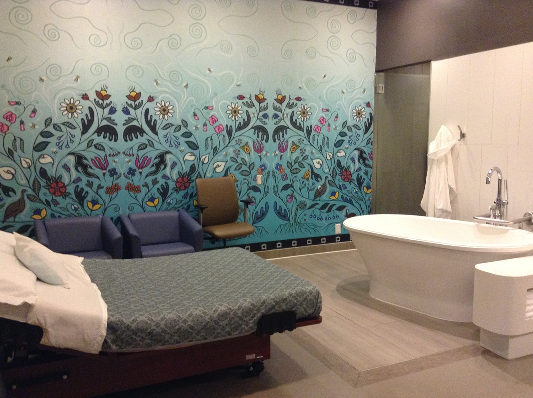 Inside the gorgeous Toronto Birth Centre