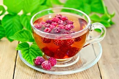 Red raspberry leaf tea doesn't ACTUALLY taste like raspberries. Who knew?