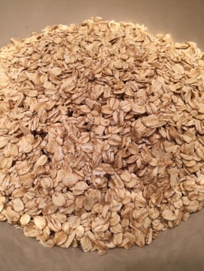 4 cups of oats is a whole lotta oats!