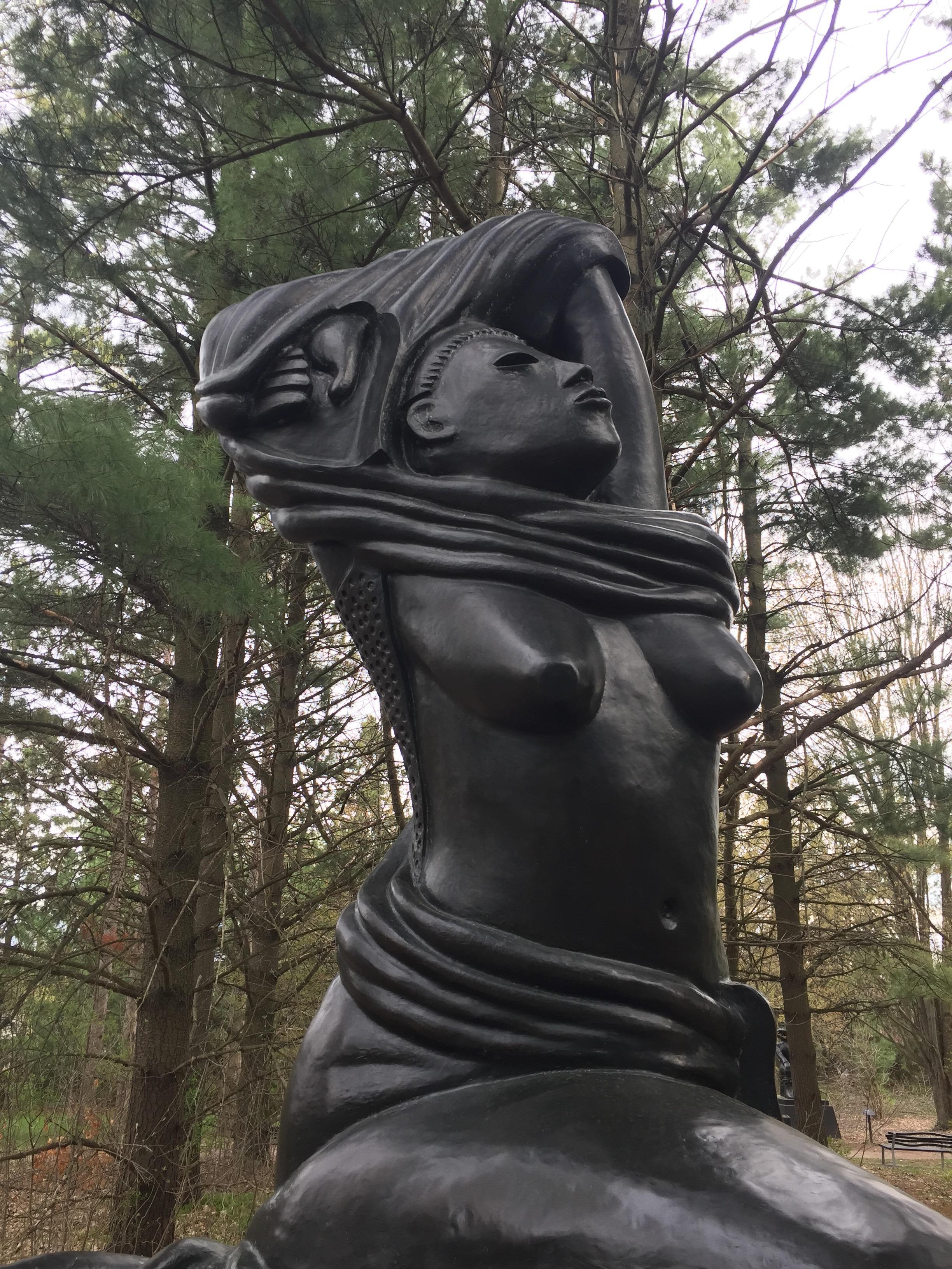 """"""" Sun Gown """", Ivan Eyre, bronze, 2010"""