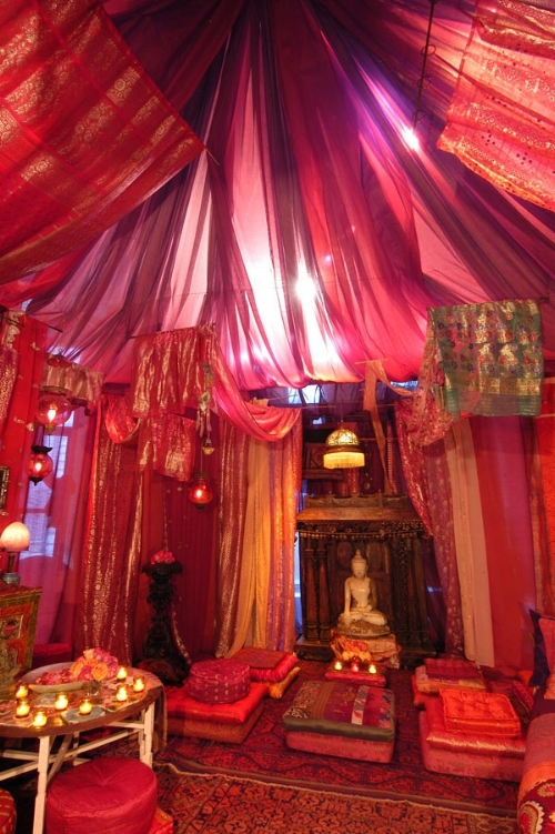 A  beautiful Red Tent