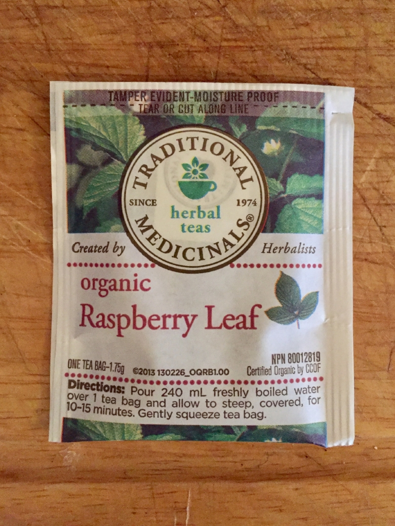My favourite brand of tea,  Traditional Medicinals