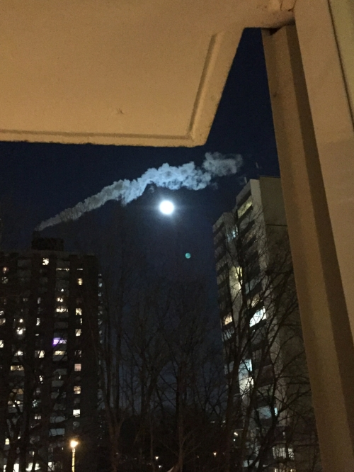 The New Year's full moon