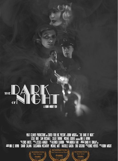 THE DARK OF NIGHT   Suited 4 Inc.   Directed By: Robin Wright  Costume Designer: Jessica Wenger