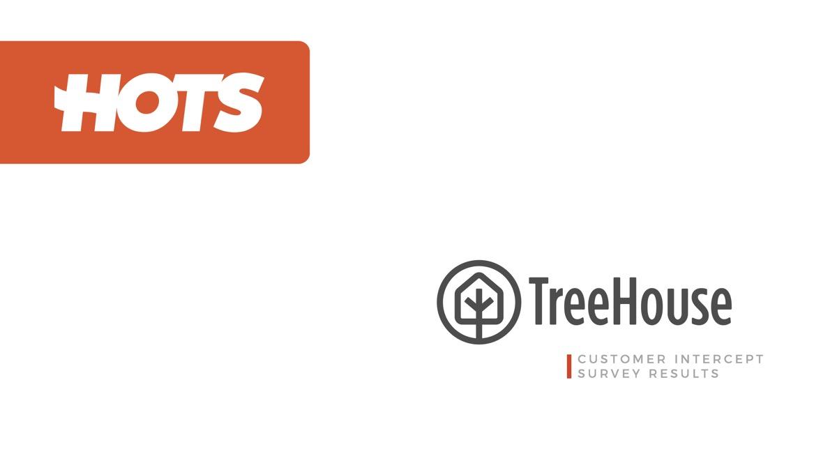 CASE STUDY:  TreeHouse customer intercept survey