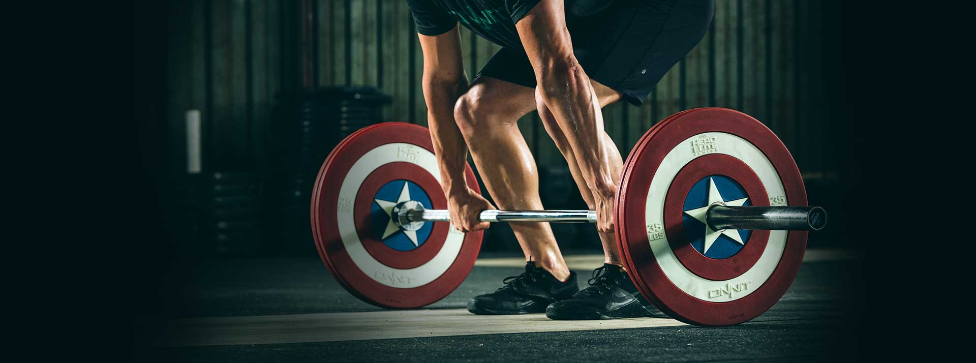Captain America Weight Plates