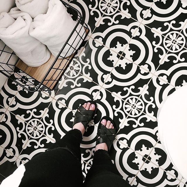 bathroom floor goals let's be real here.
