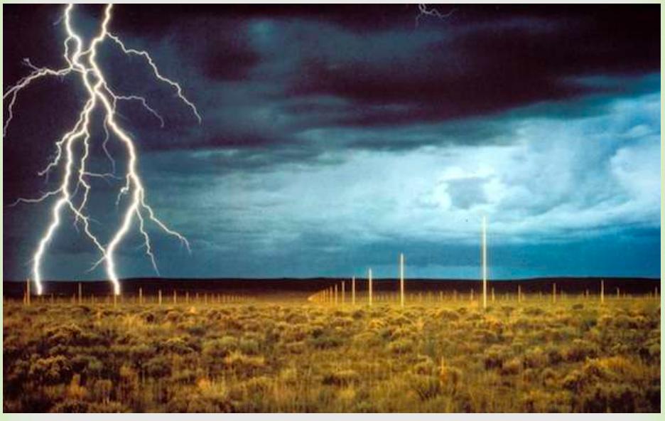 Lightening Fields (https://www.slideshare.net/paifhaa/the-lightning-field)