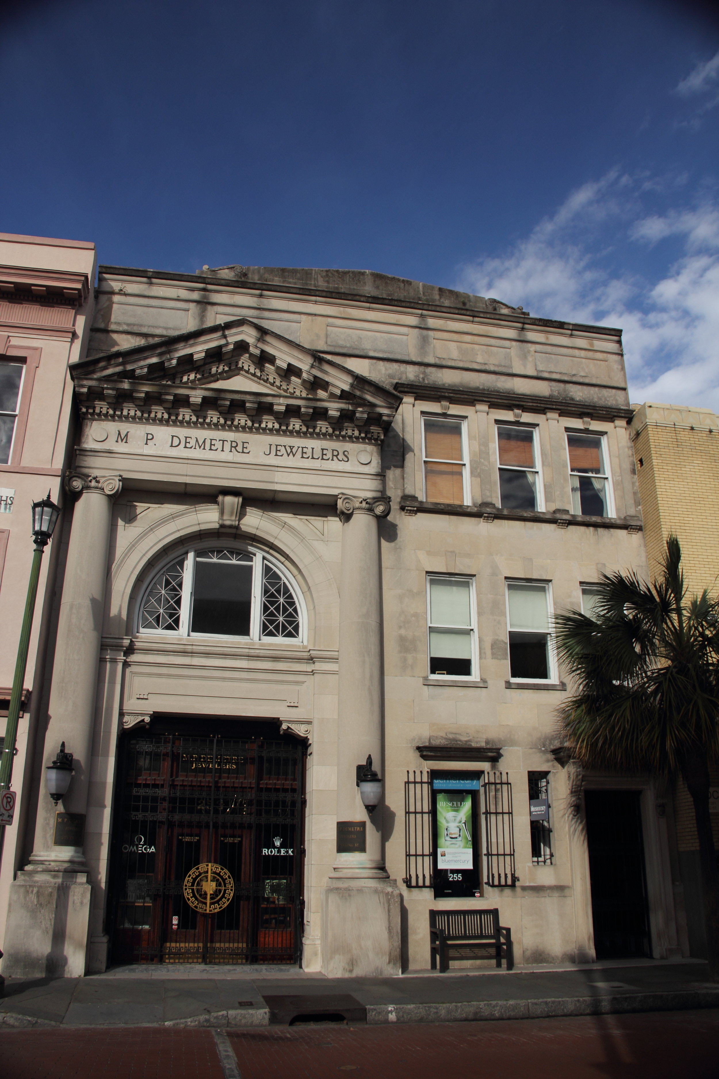 downtown charleston architecture