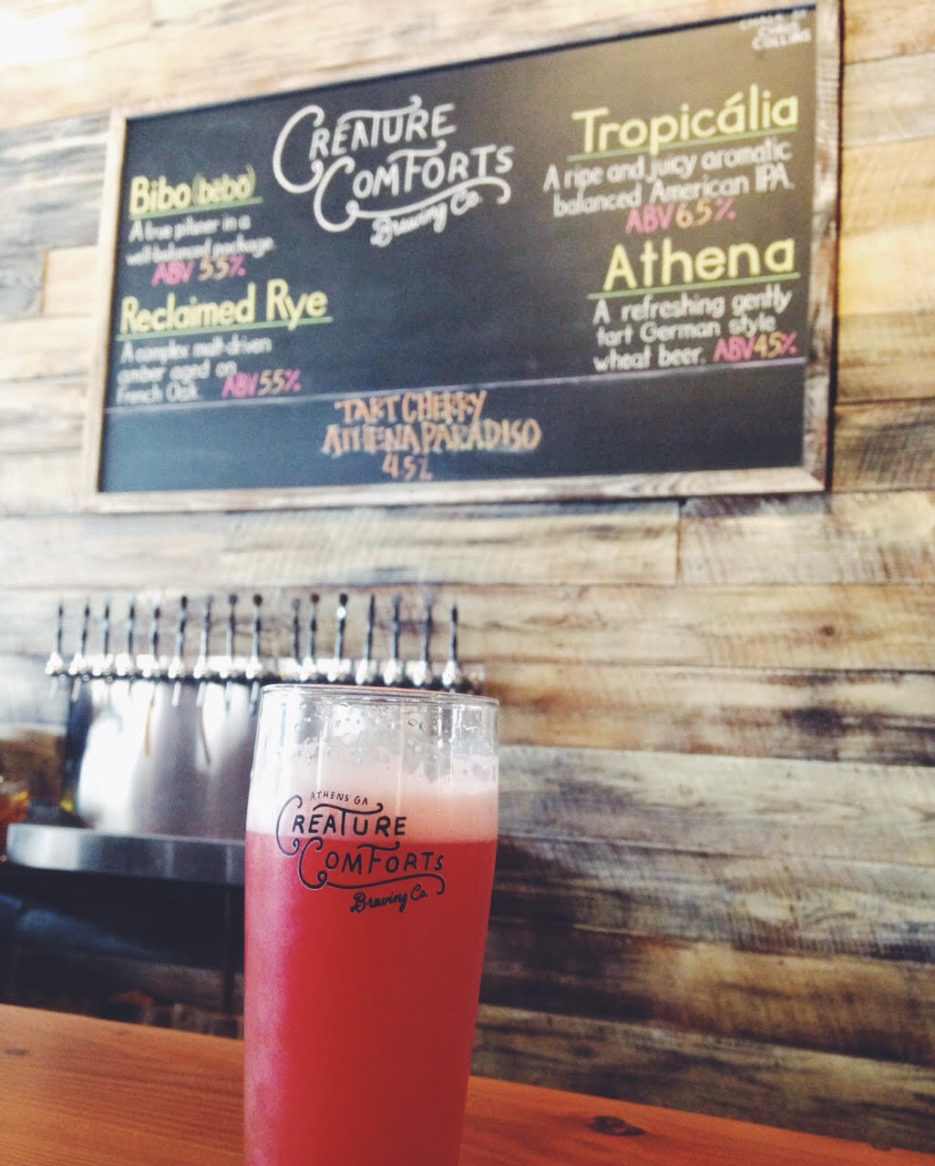 curious tuesday at creature comforts