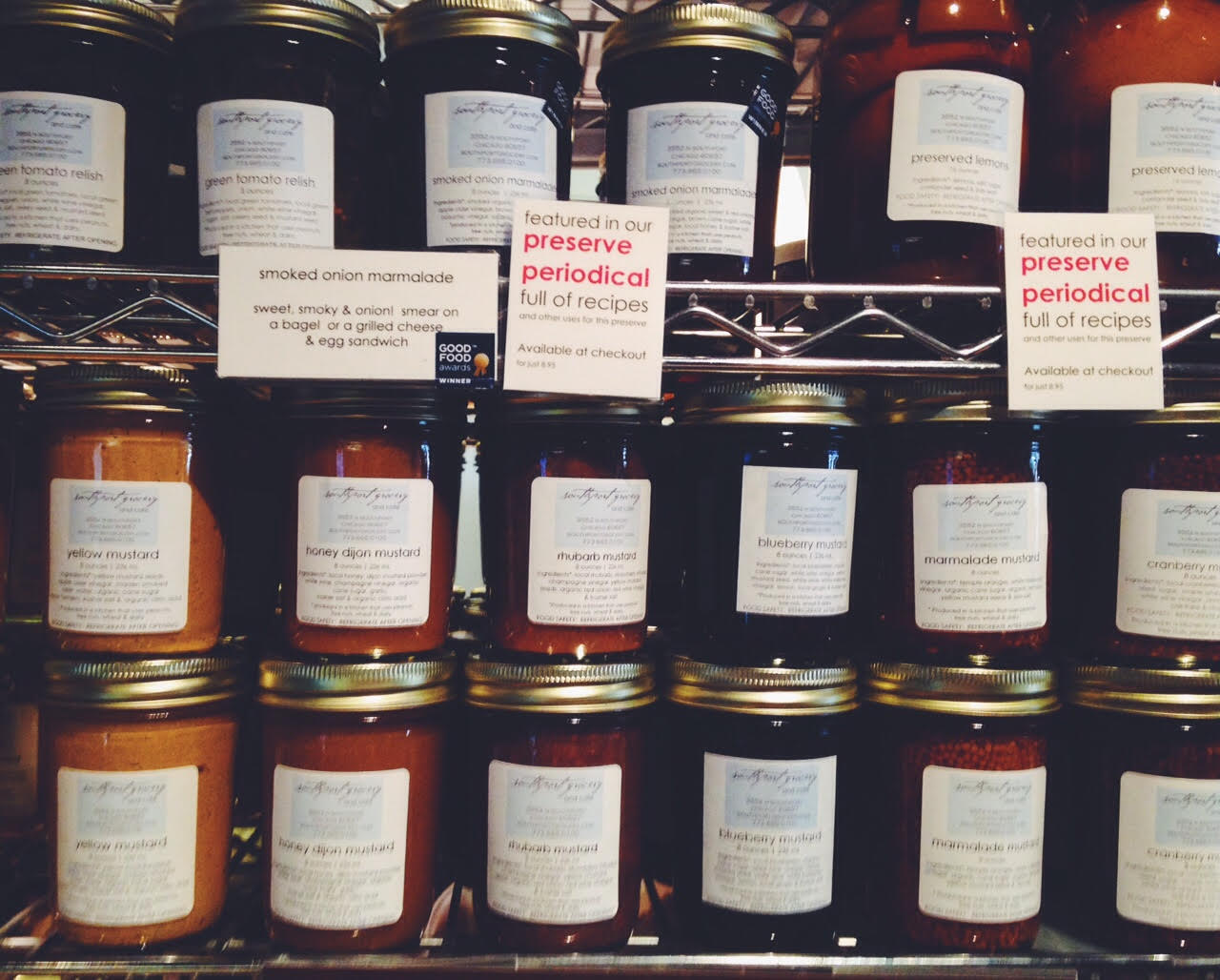 southport grocery preserves