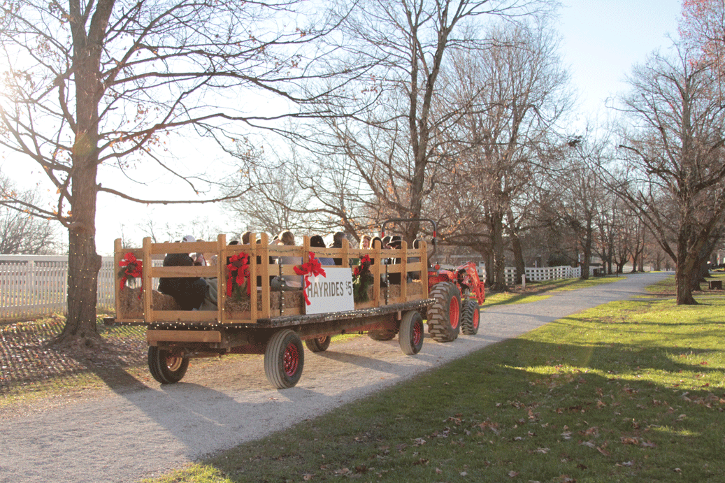 Hayrides at Shaker Village | Em's on the Road
