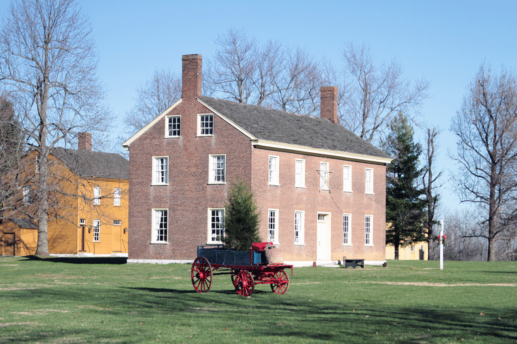 Spend the Holidays at Shaker Village in Harrodsburg, Kentucky
