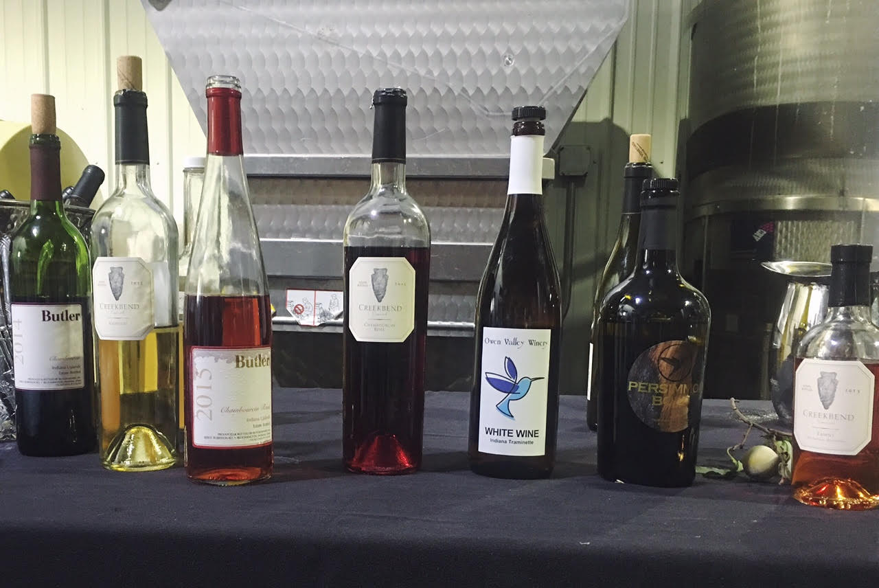 indiana uplands wine trail | ems on the road