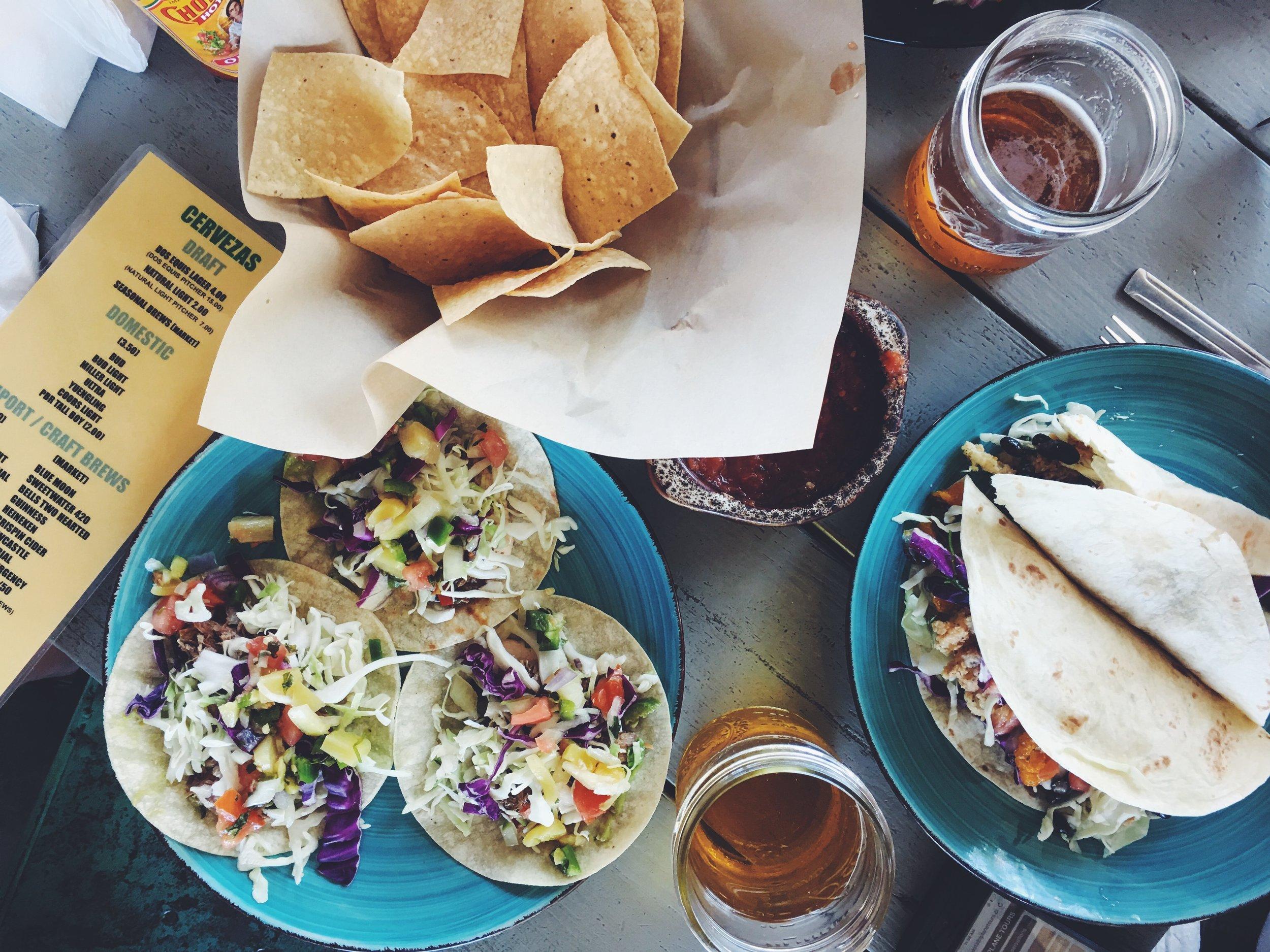 Tacos at Bubba Garcias