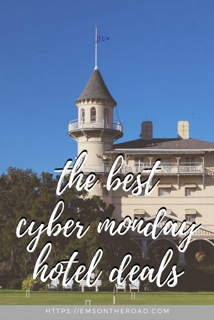 cyber monday hotel deals