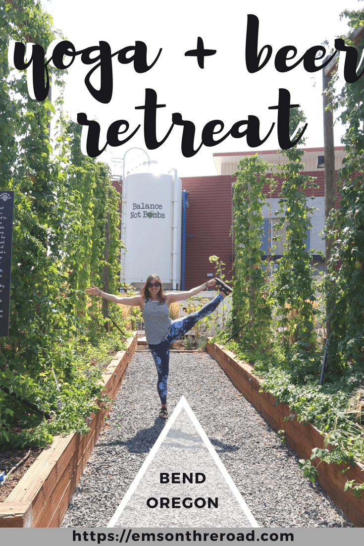 Yoga + Beer Retreat in Bend, Oregon