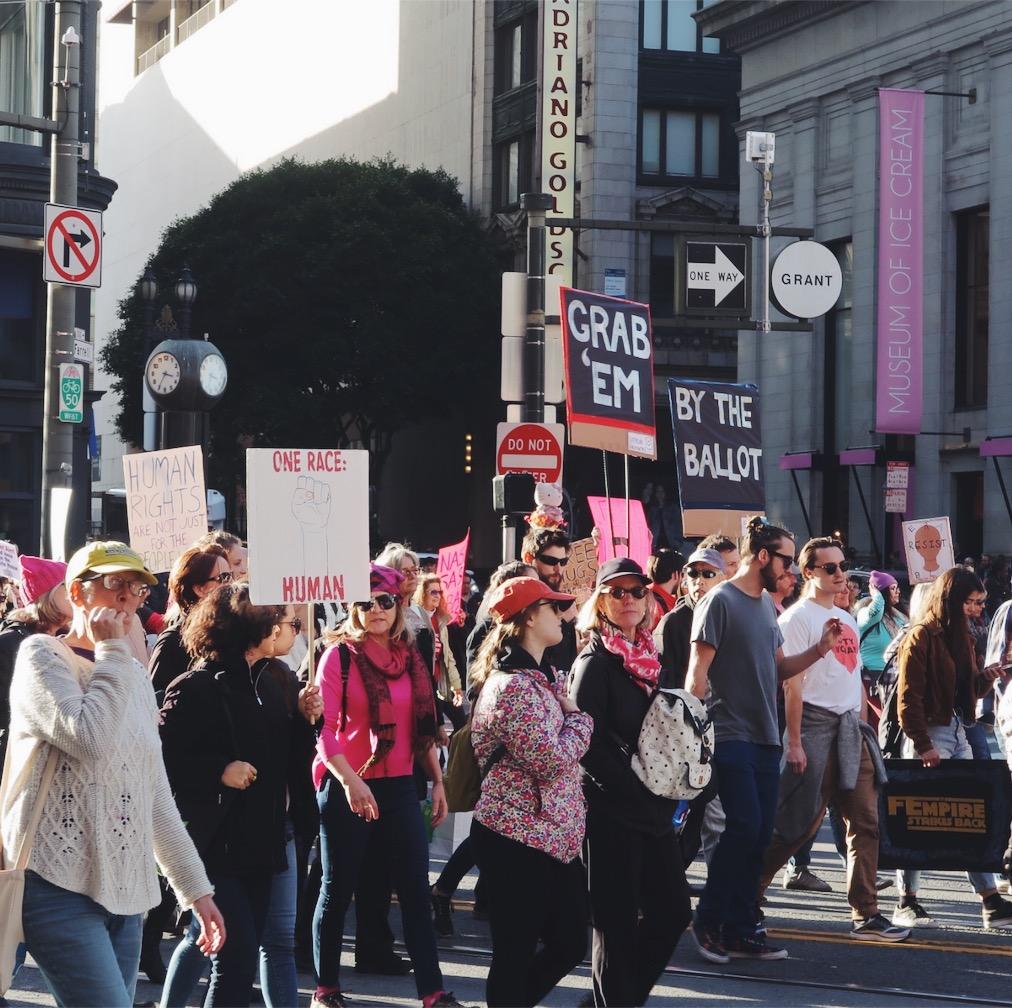 women's march san francisco