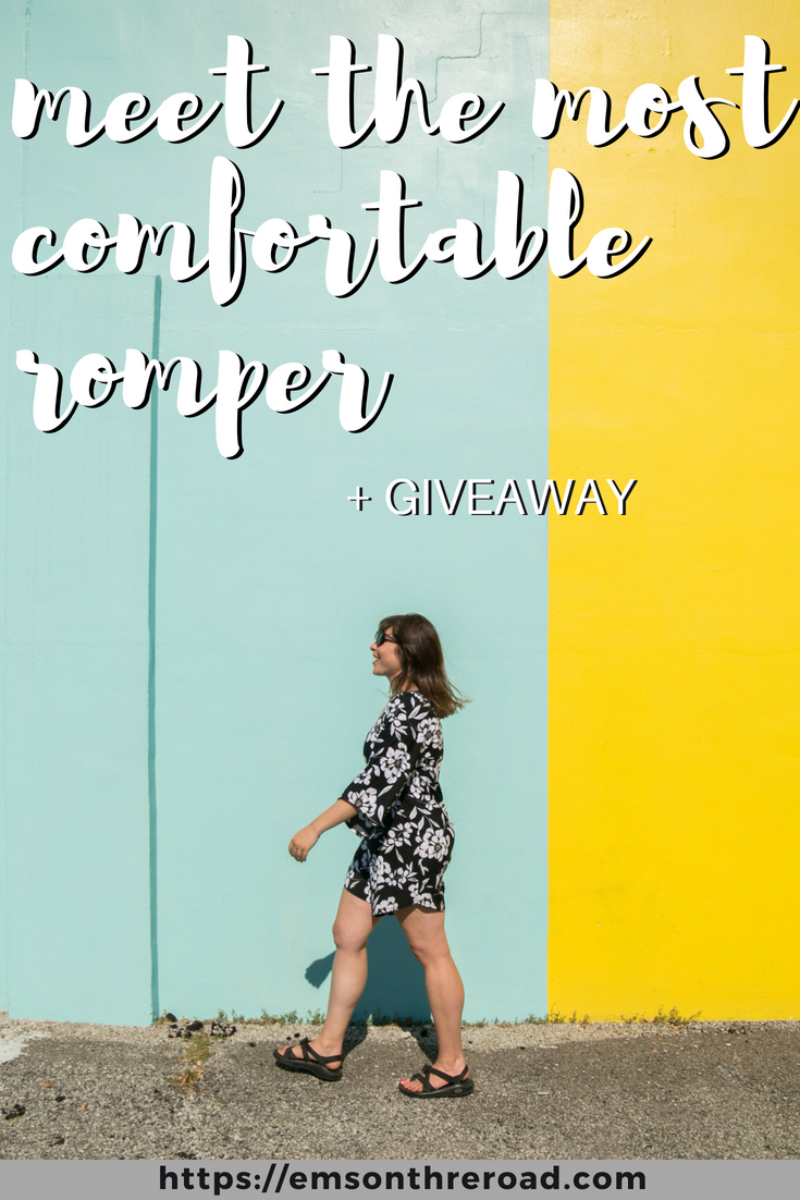 The Most Travel Friendly Romper