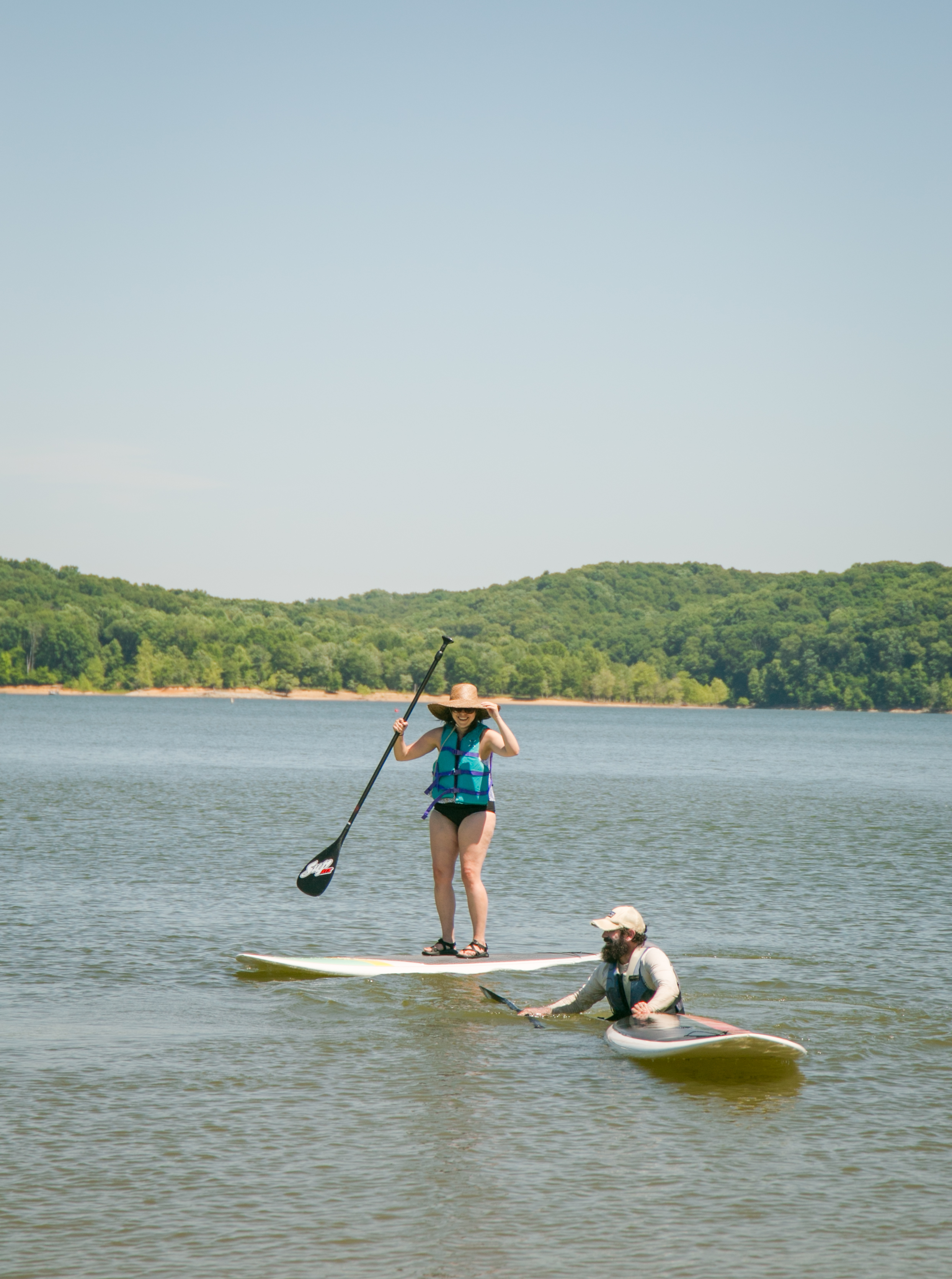 lake monroe stand up paddle boarding