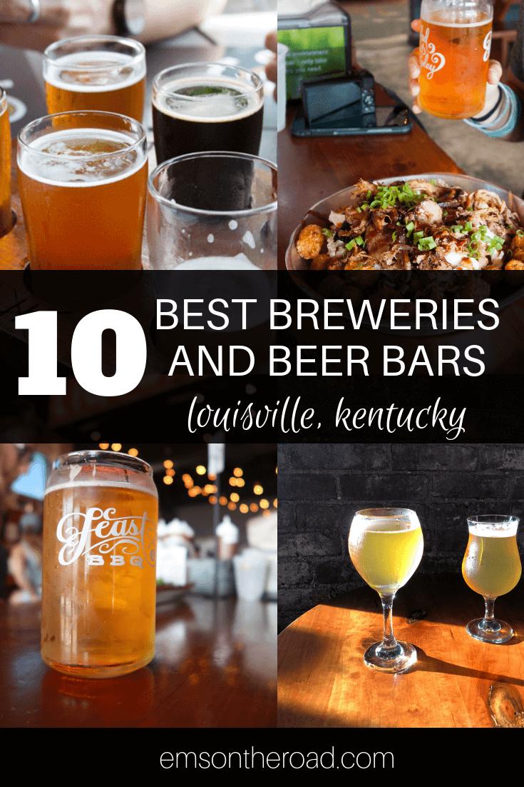 10 Best Beer Bars & Breweries in Louisville, Kentucky