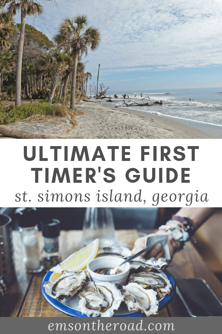 The Ultimate First Timer's Guide to St  Simons Island