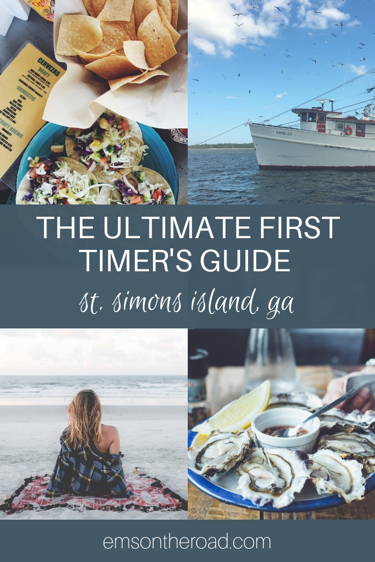 The Ultimate First Timer's Guide to Saint Simons Island, Georgia