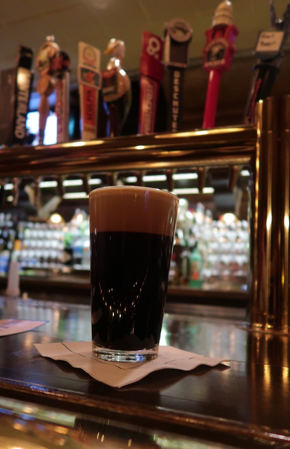 Nitro Stout on tap at the Horse & Plow Pub at The American Club Resort