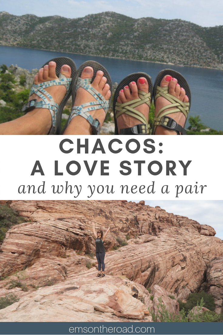Chacos are the sandal you need for your next adventure. #chaco #sandals