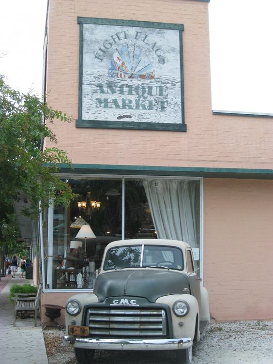 Eight Flags Antique Market is the ultimate vintage emporium in downtown Fernandina, Florida