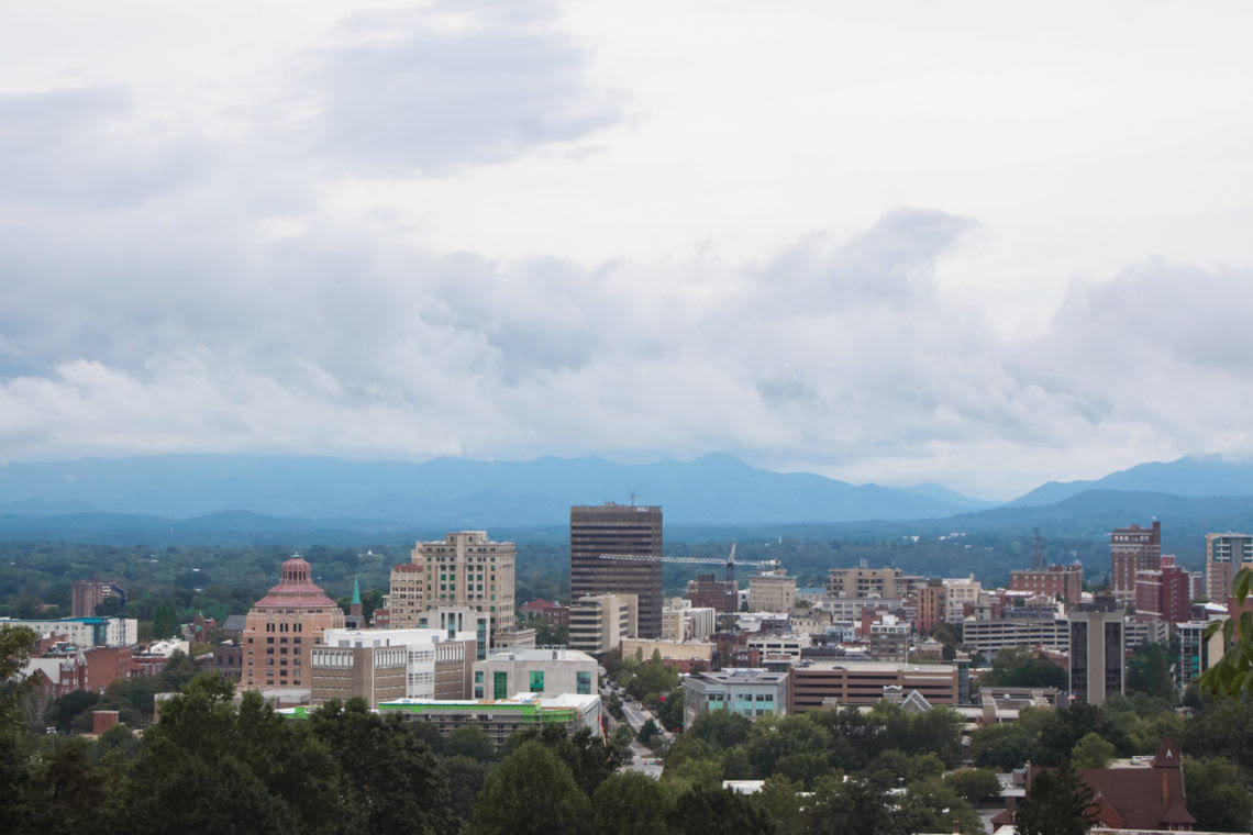 Downtown Asheville by Paige of For the Love of Wanderlust