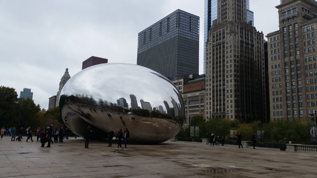 Cloud Gate in Chicago by Patty of the Savvy Globetrotter