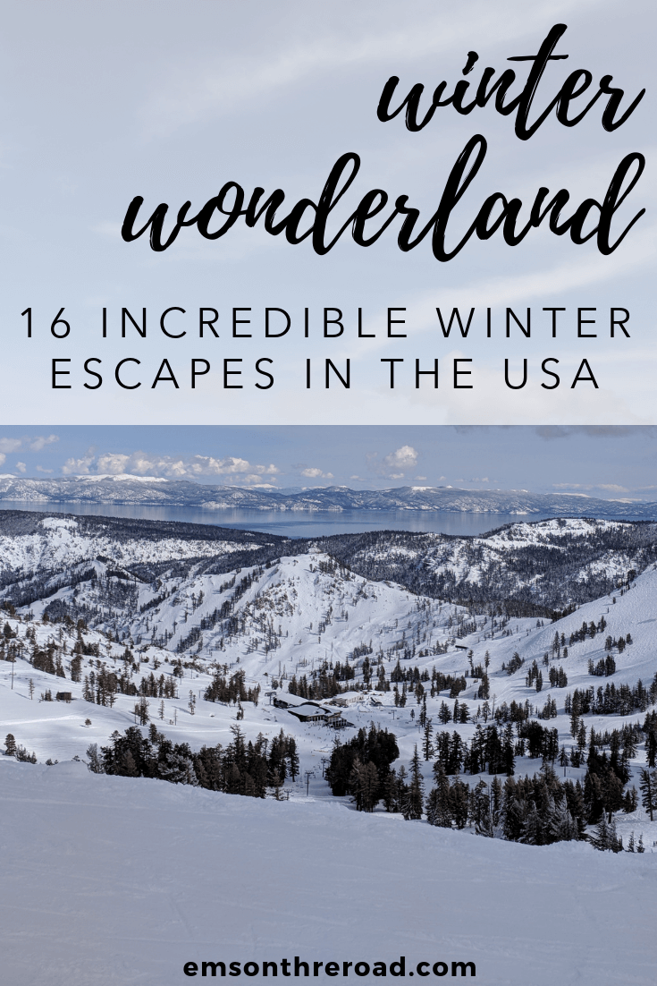16 Winter Wonderland Escapes in the USA Photo: Squaw Valley by Nomad by Trade #wintertravel