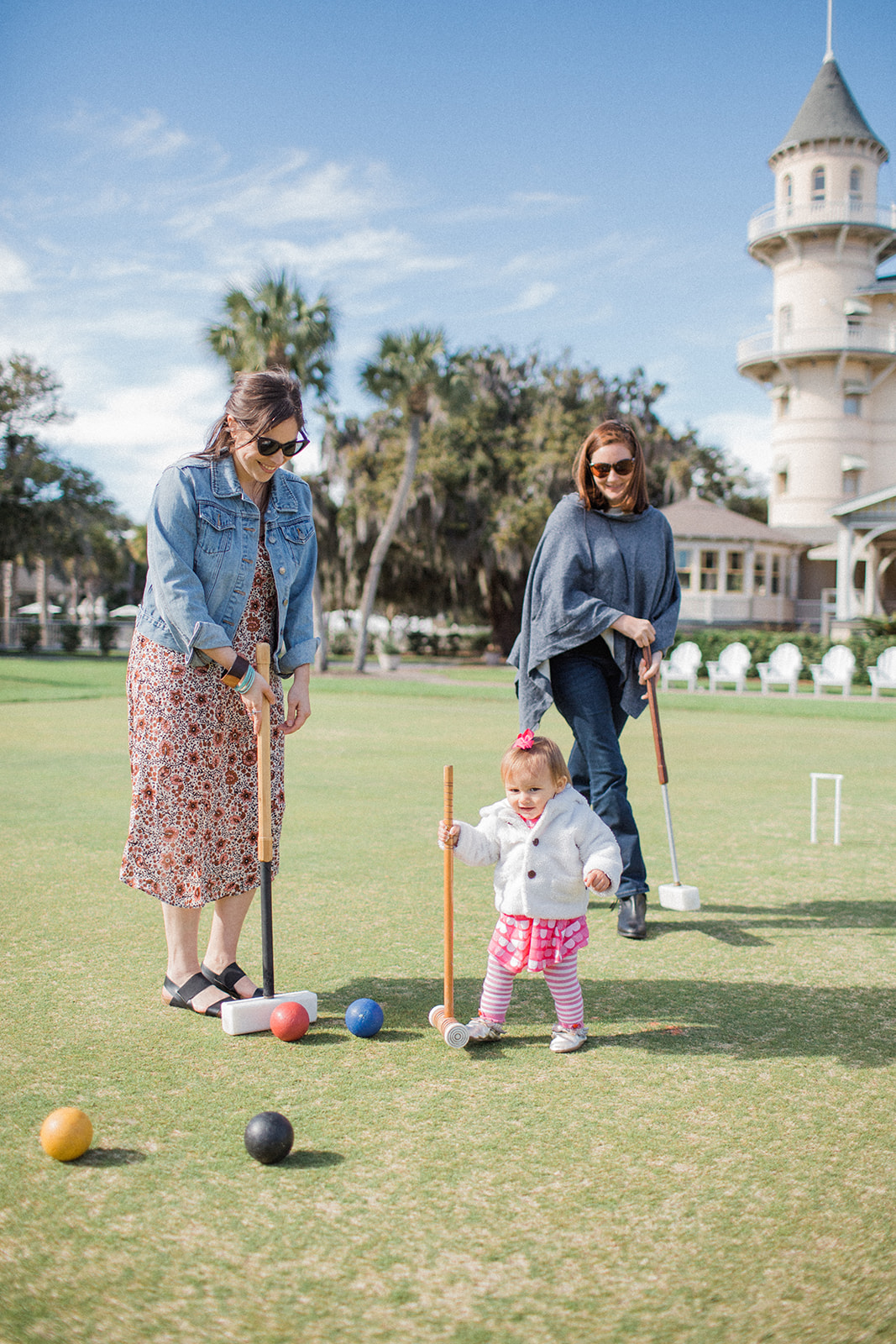 Croquet Lawn by Caitlin Lee