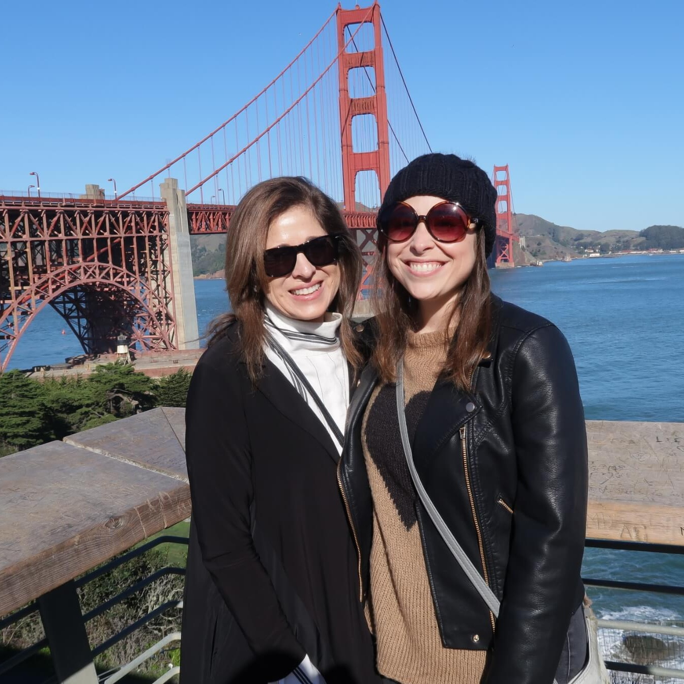 Mom and I in San Francisco