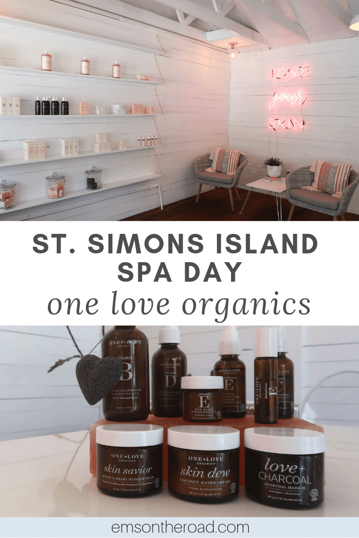 Give your skin some love at One Love Organics Spa in St. Simons Island, Georgia