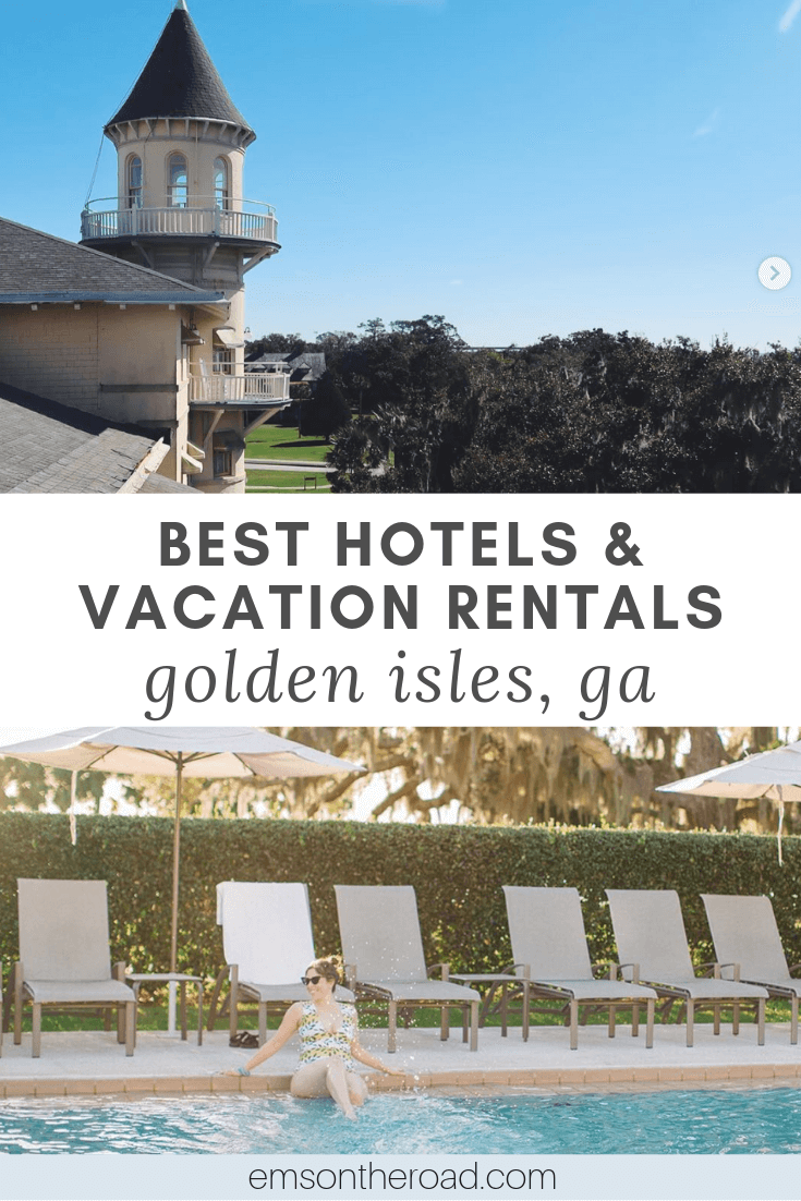 Discover the best hotels and vacation rentals in St. Simons Island, Jekyll Island and Sea Island, Georgia.
