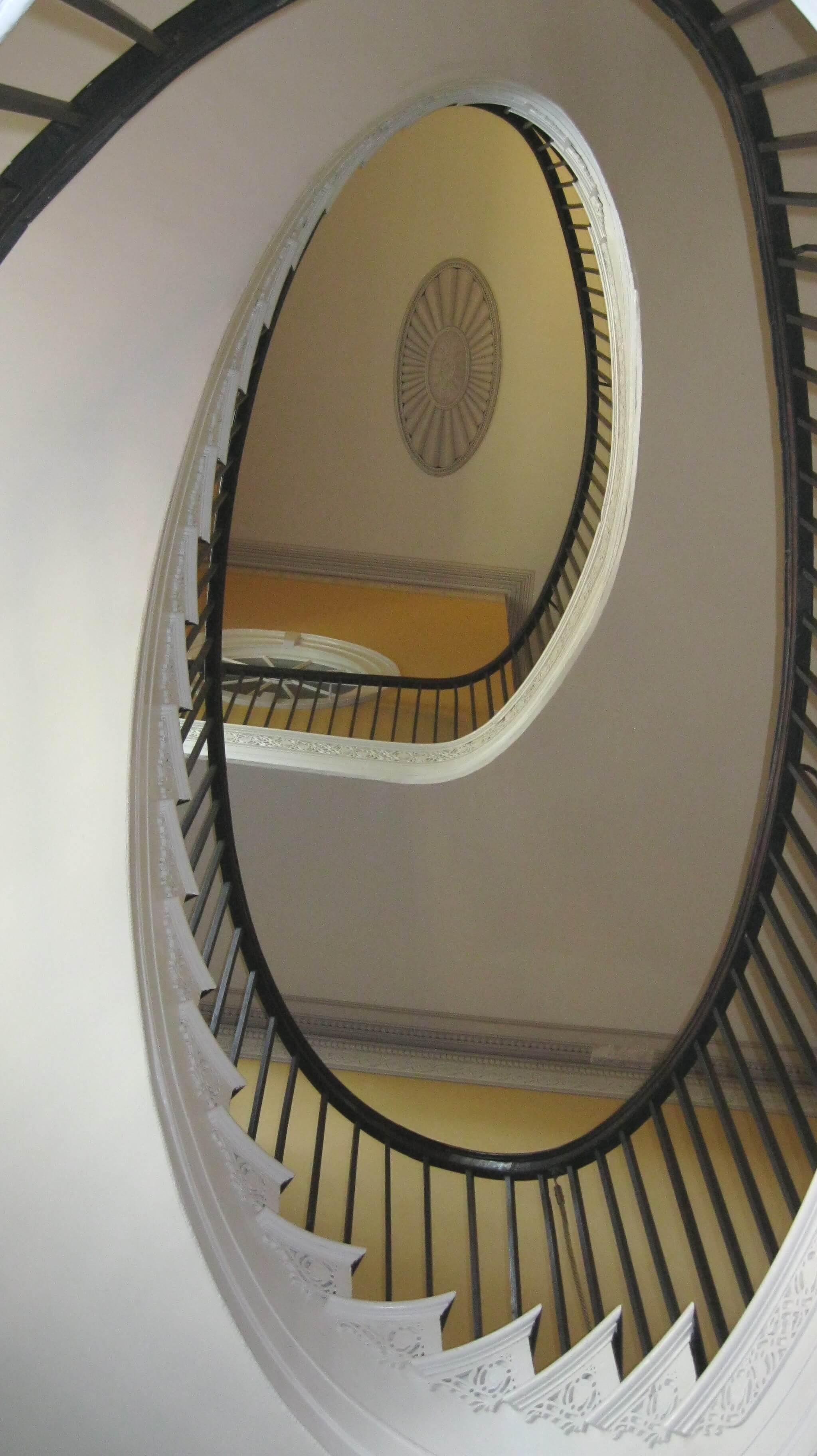 Nathaniel Russell House Flying Staircase