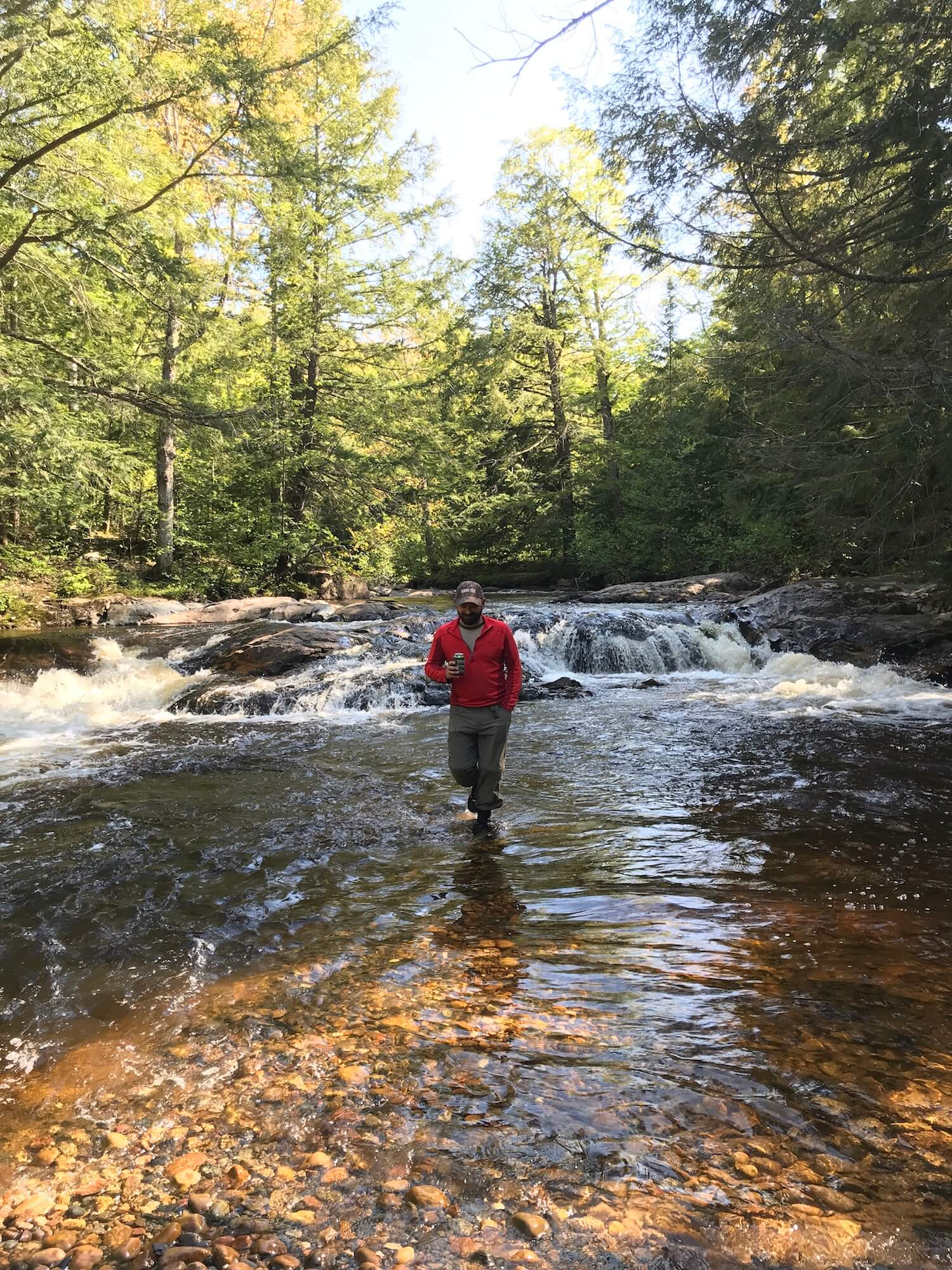 Yellow Dog Falls in Marquette, Michigan | One Perfect Day in Marquette: A Local's Summer Itinerary