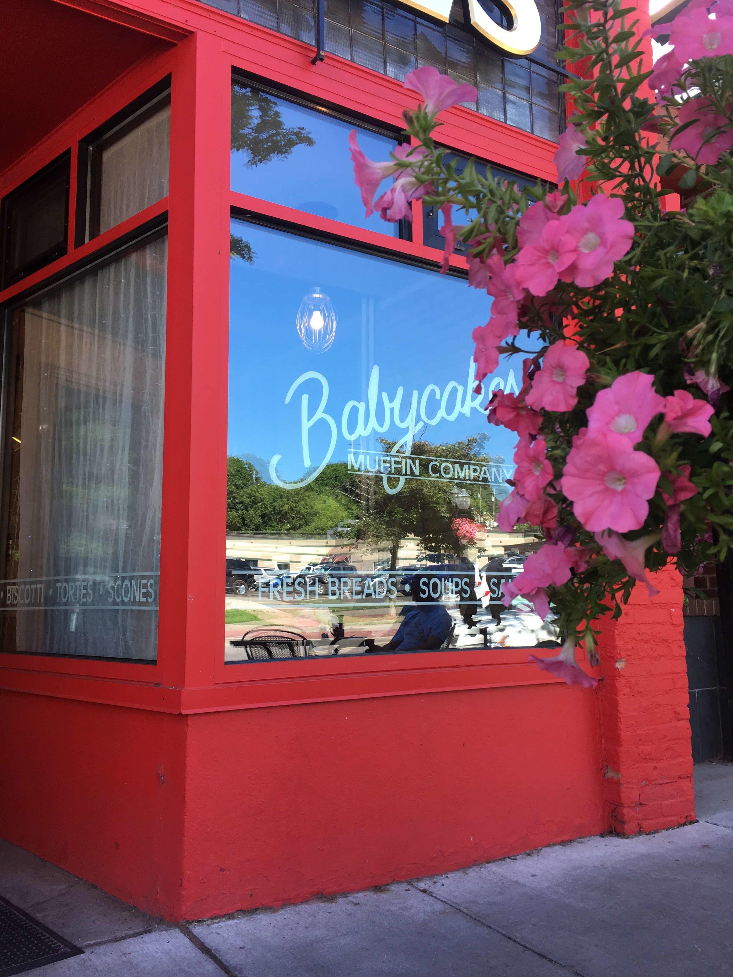 Babycakes Muffin Company, Marquette Michigan