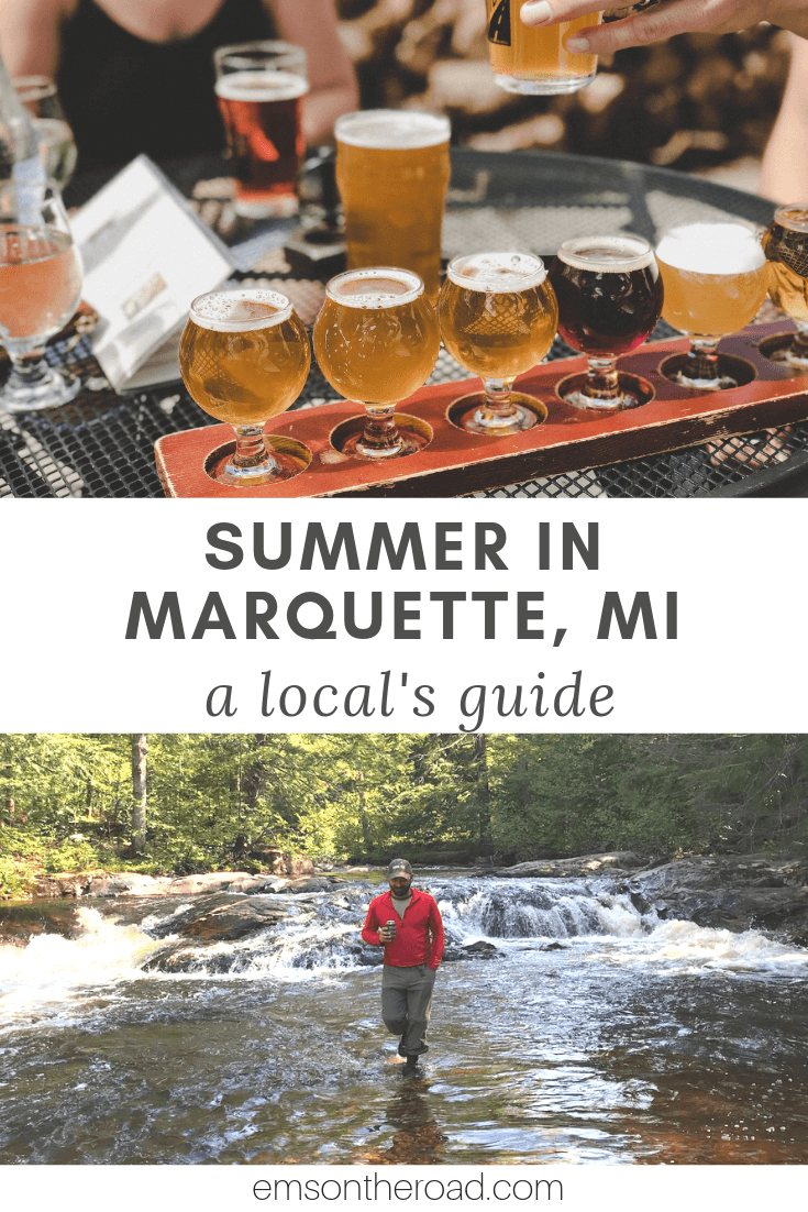 One Perfect Summer Day in Marquette, Michigan: A Local's Guide #puremichigan #summertravel