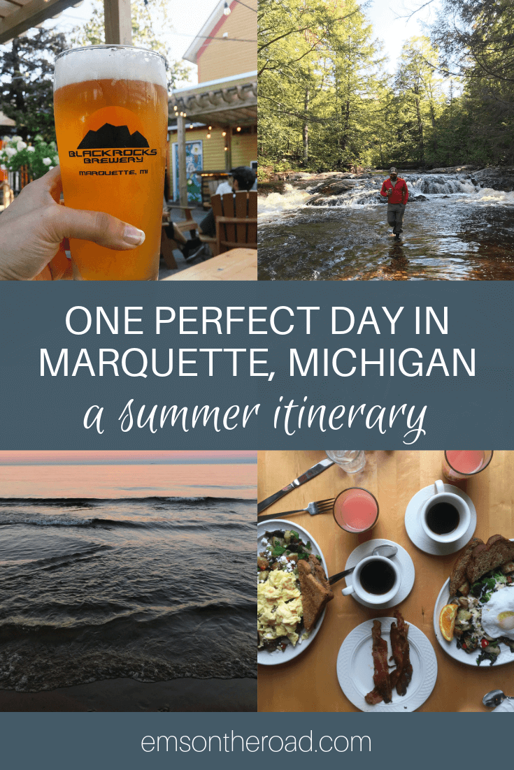 Plan the perfect summer day in Marquette, Michigan with this local's guide. #puremichigan