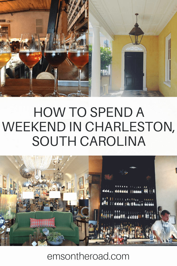 Find out how to spend the perfect weekend in Charleston, South Carolina #travel #charleston