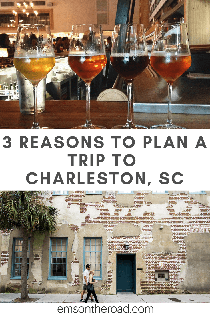 There are plenty of reasons to visit Charleston, South Carolina but these are my top 3. #charleston #traveldestinations