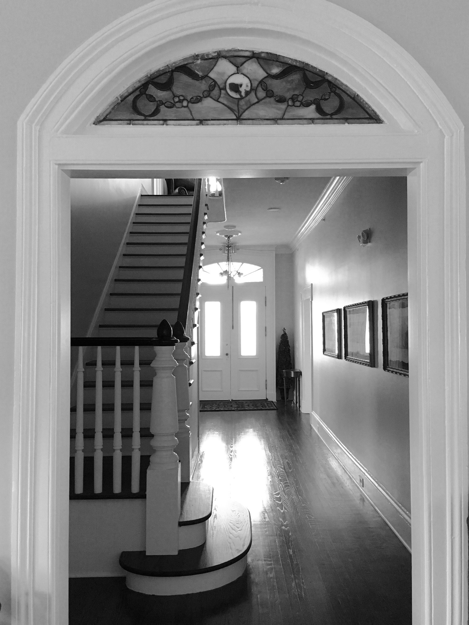 Interior Central Hall B&W.jpg