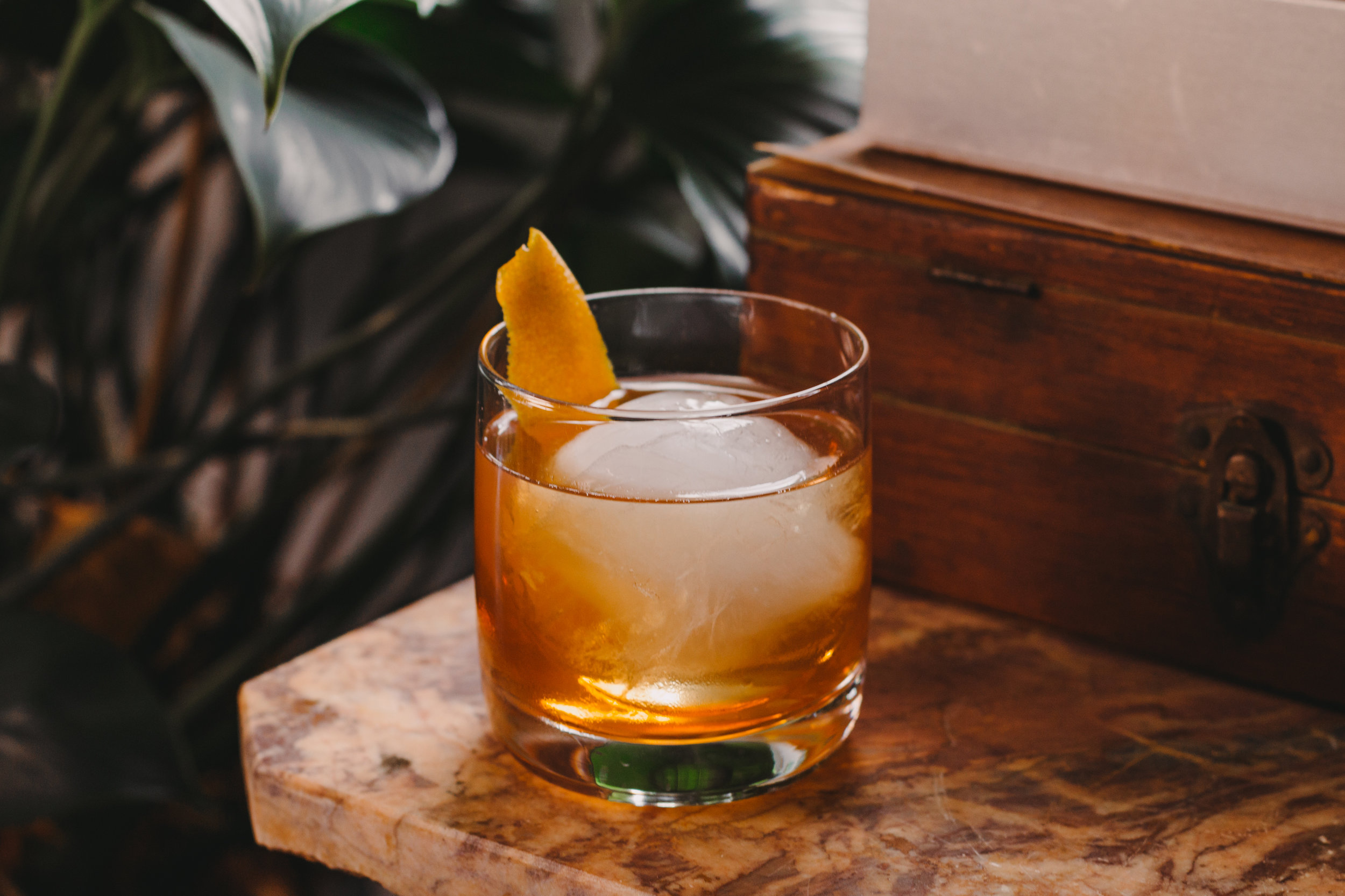 - - BOURBON BELLE OLD FASHIONED