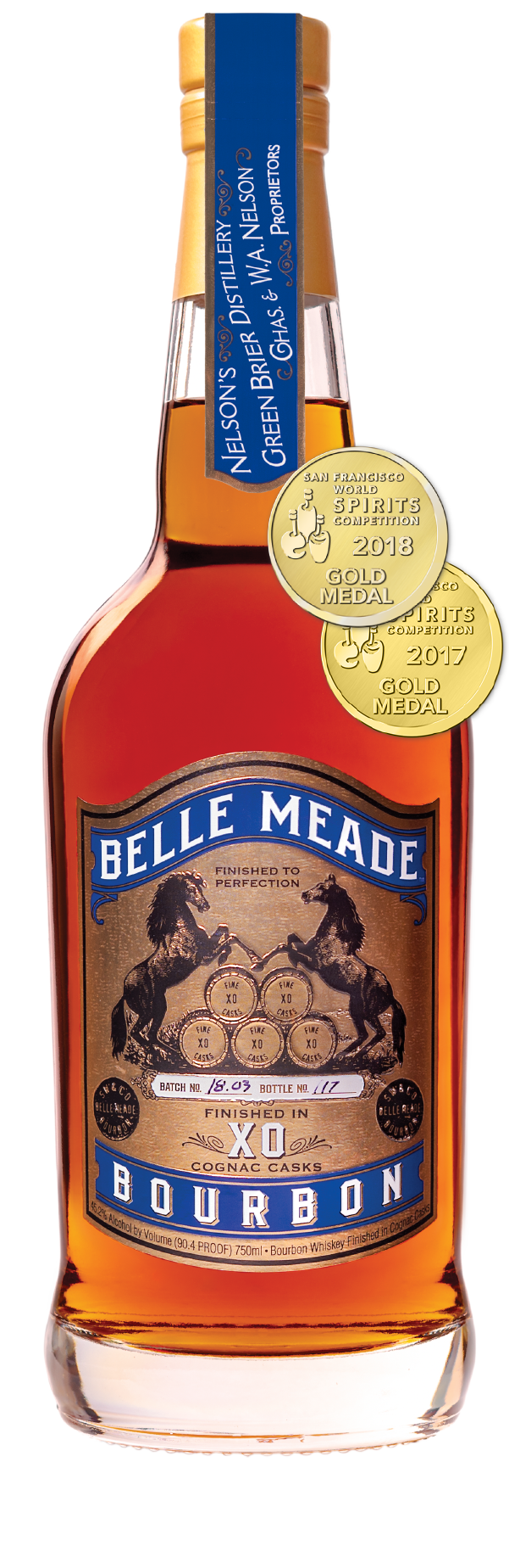 Belle Meade Bourbon Cognac Cask Finish
