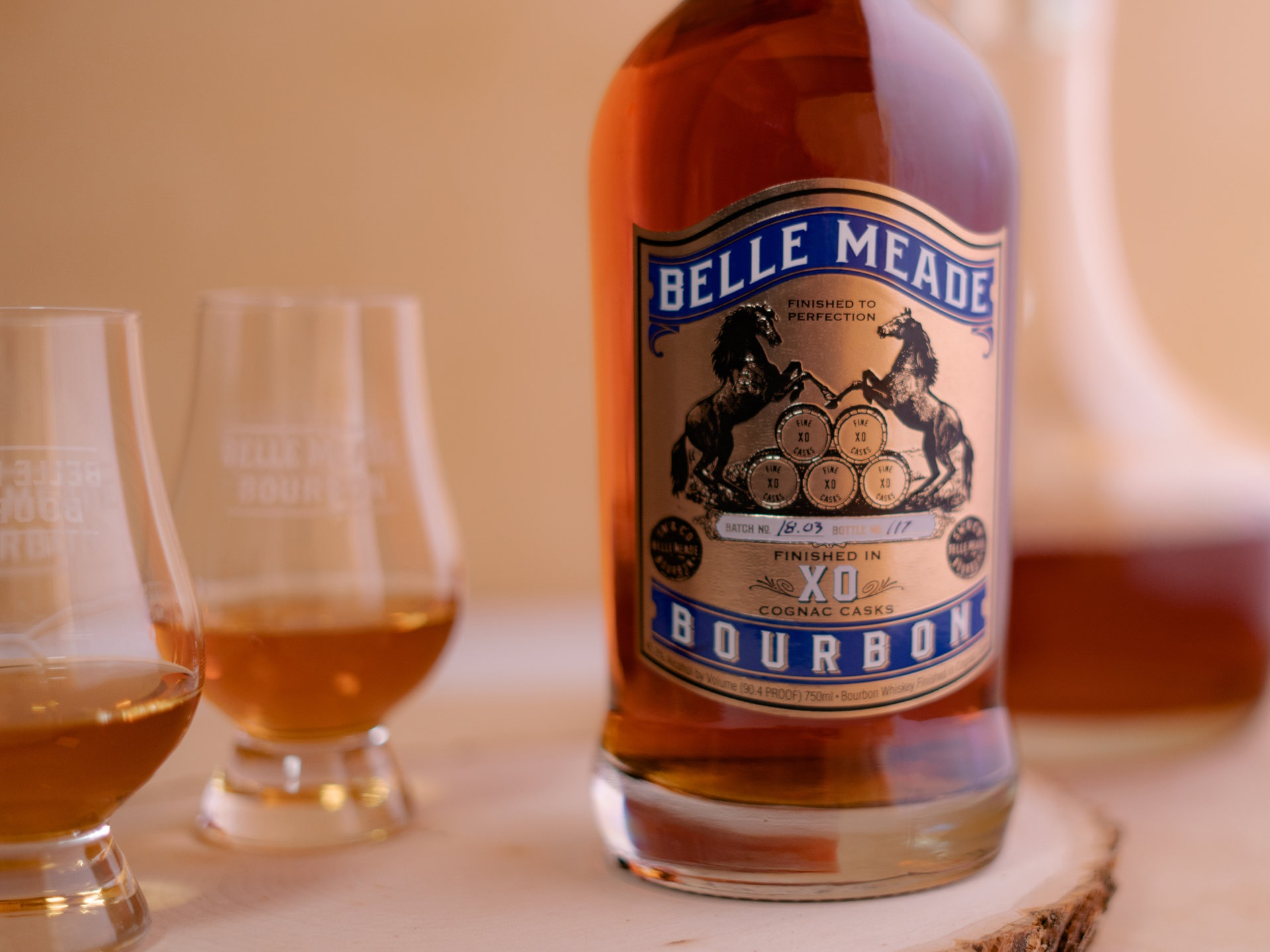 Award-winning Belle Meade Bourbon Cognac Cask Finish